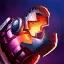Jinx's E: Flame Chompers!